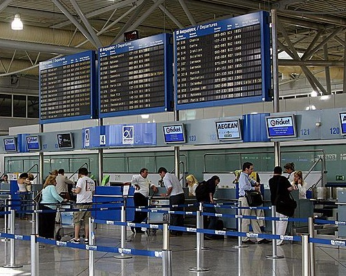 Venizelos airport Taxis to and from Athens